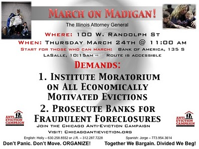 March on Madigan English