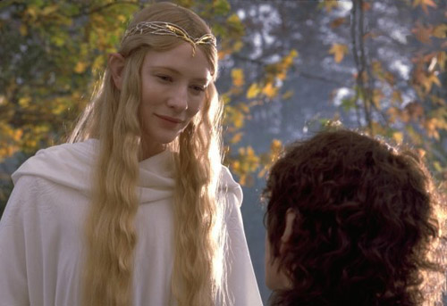 Galadriel and Frodo