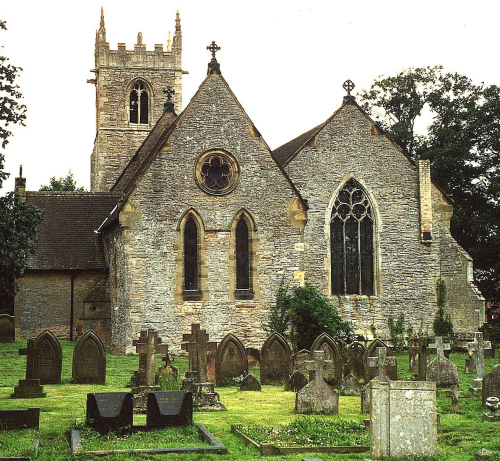 St helen's church  in lea england
