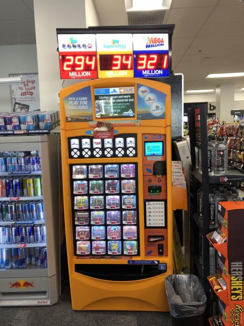 Lotto-vending-machine